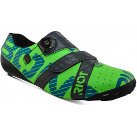 RIOT + BOA CYCLING SHOE TOTALLY LIME / CHARCOAL