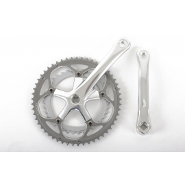 Chainset Alloy 39/53 Teeth 170mm Silver