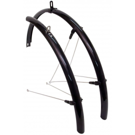 Road Mudguards 700 x 25-32c Black