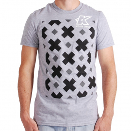 KUK - T-Shirt - We Are Cross - Mens - Heather Grey - Extra Large