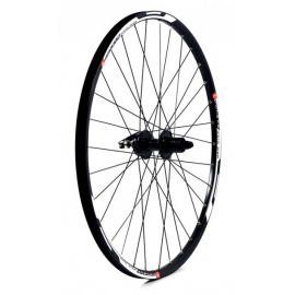 KX MTB650B Doublewall Q/R Cassette Wheel Rim Brake in Black (Rear)