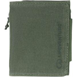 RFID Protected Wallet - Olive Waxed Canvas