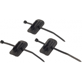 Self-adhesive cable guides