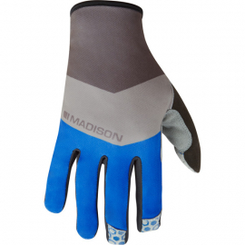 Alpine men's gloves  block ultra blue / cloud grey X-large