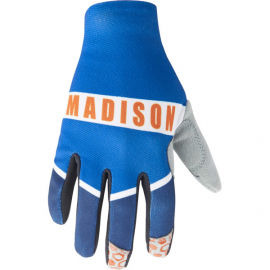 Alpine youth gloves  ultra blue / ink navy large