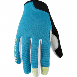 Leia women's gloves  caribbean blue X-small