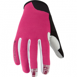 Leia women's gloves  rose red small
