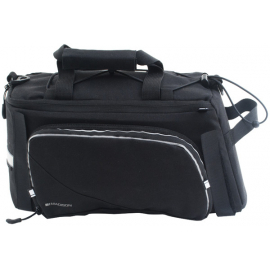 RT20 rack top bag with fold out pannier pockets