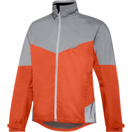 Stellar Reflective men's waterproof jacket  chilli red / silver medium