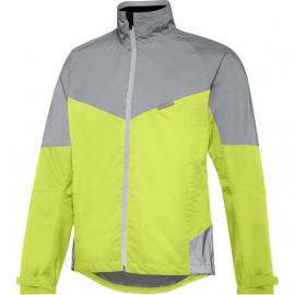 Stellar Reflective men's waterproof jacket  hi-viz yellow / silver X-large