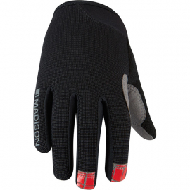 Trail youth gloves  black medium