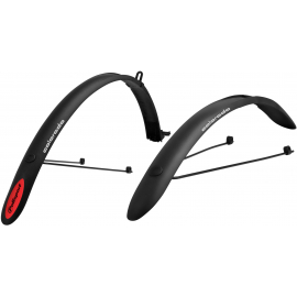 Colorado Mudguards Clip On 700c Black
