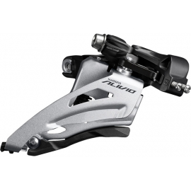 FD-M3120-M Alivio front derailleur  9-speed double  side swing  mid clamp