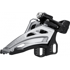 FD-M4100-E Deore front derailleur  10-speed double  side swing  E-type