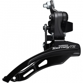 FD-TZ500 6-speed MTB front derailleur  down swing  down pull  31.8mm  66-69  42T