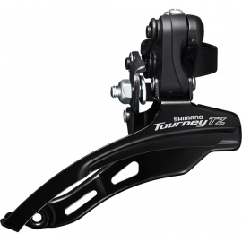 FD-TZ500 6-speed MTB front derailleur  down swing  top pull  31.8mm  66-69  42T