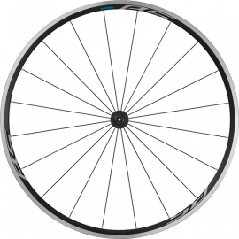 WH-RS100 clincher wheel  100 mm Q/R axle  front  black