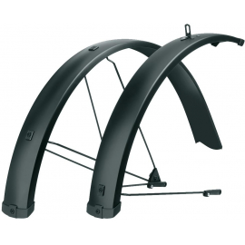 BLUEMELS 27.5-29 75MM U-STAY EXTRA LONG MUDGUARD SET: