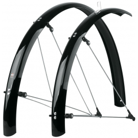 BLUEMELS MUDGUARDS 60MM X 28 BLACK: