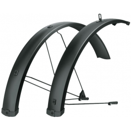 SKS BLUEMELS U-STAY MTB MUDGUARD SET:  27.5-29 75MM
