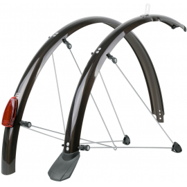 CHROMOPLASTICS MUDGUARD SET 65MM 28:65MM 28?