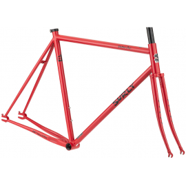 Steamroller Frameset - Shag Carpet Orange